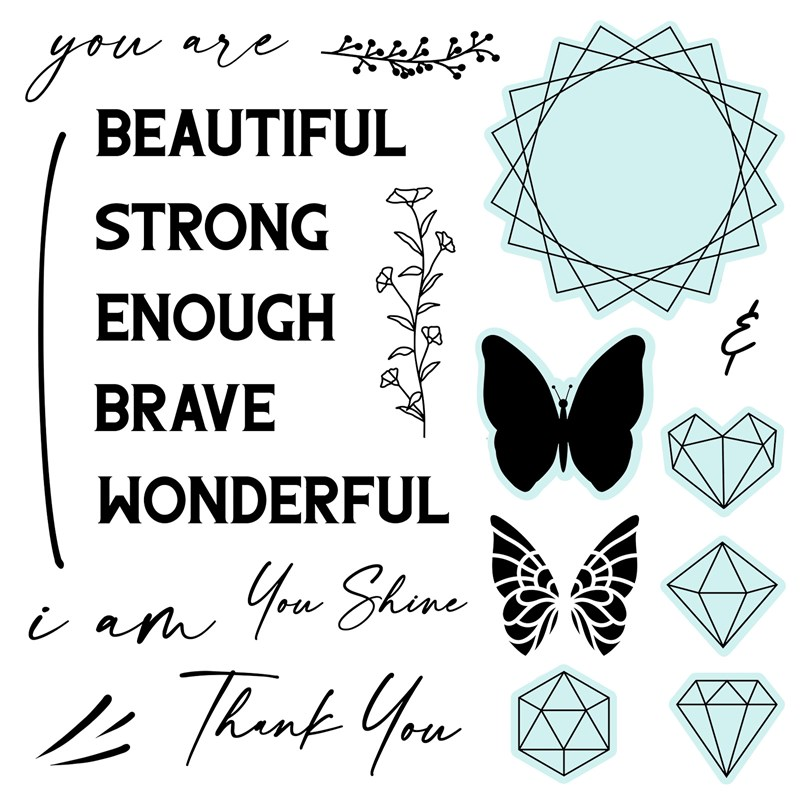 You Are Enough Stamp Set