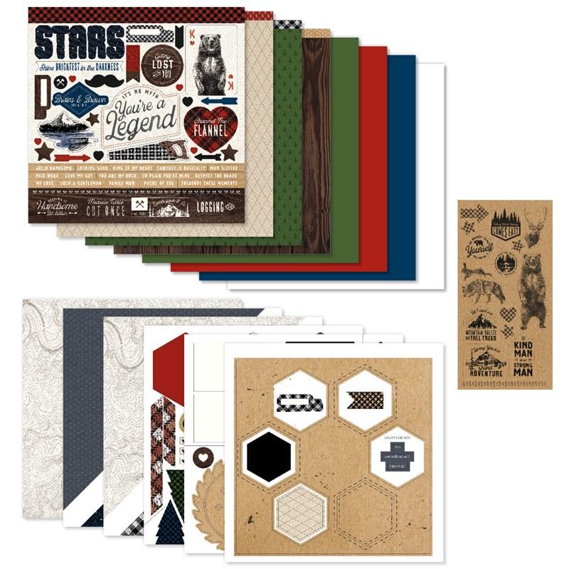 Timber Scrapbooking Workshop Kit