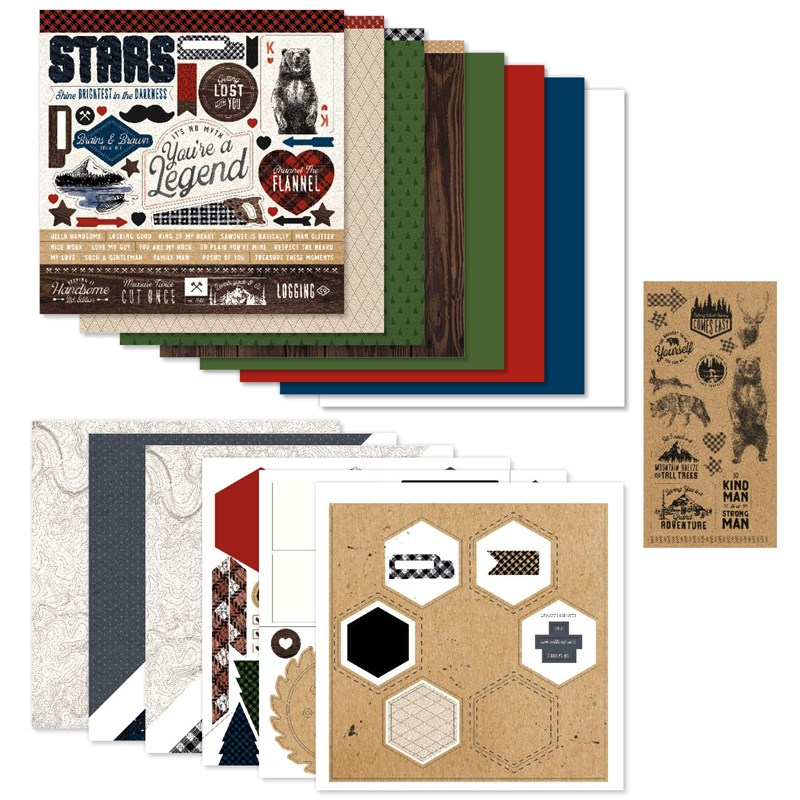 Timber Scrapbooking Workshop Kit (without Memory Protectors™)
