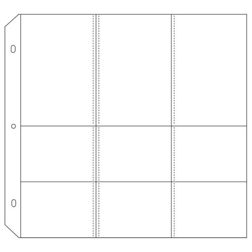 "12"" × 12"" Memory Protectors™ Design 5 (Z1952)"