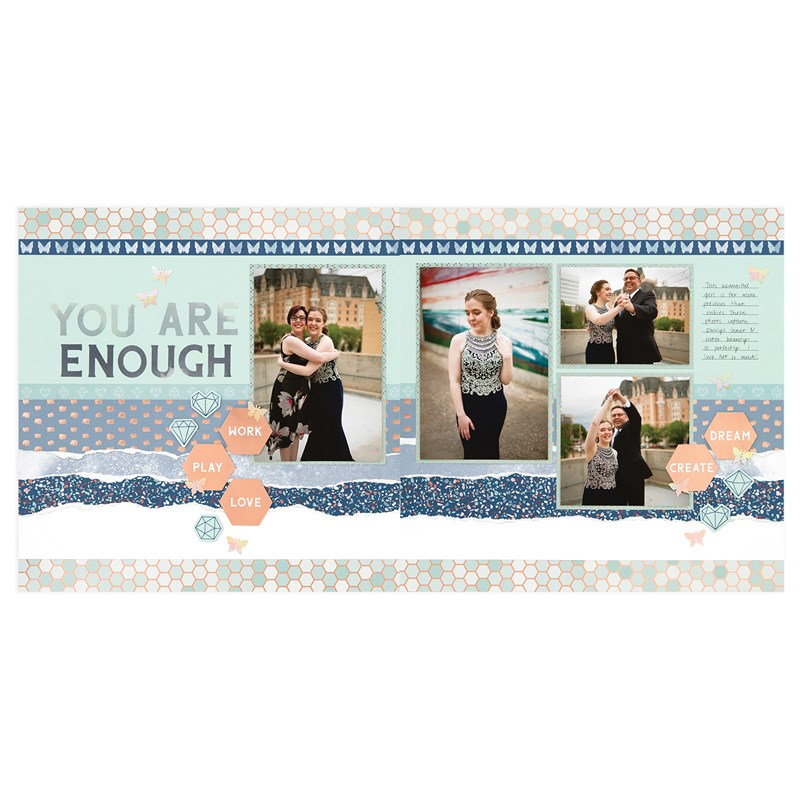 You Are Enough Scrapbooking Workshop Kit