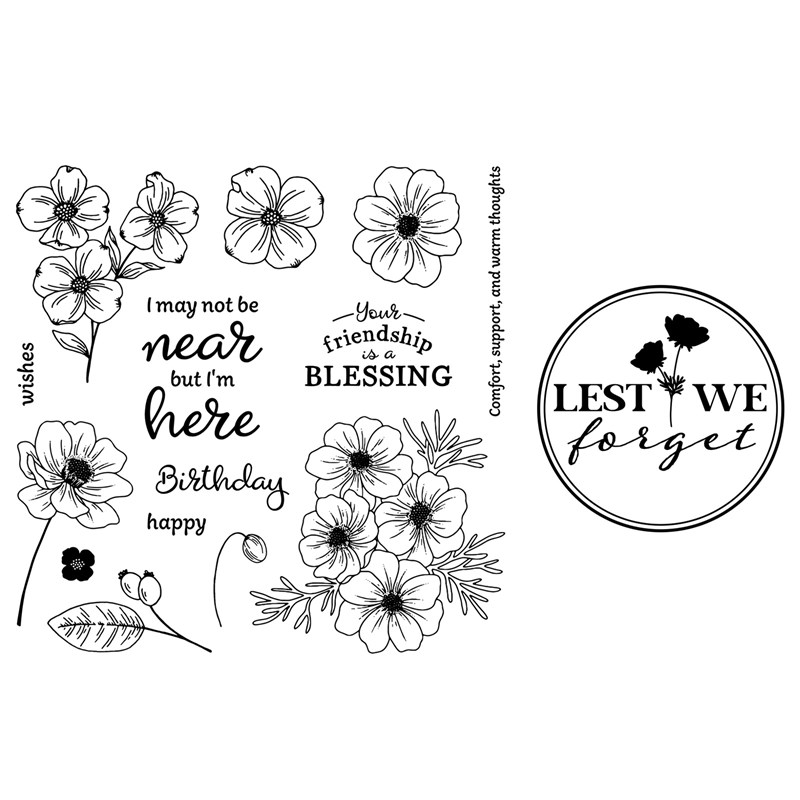 Lest We Forget Stamp Set Bundle