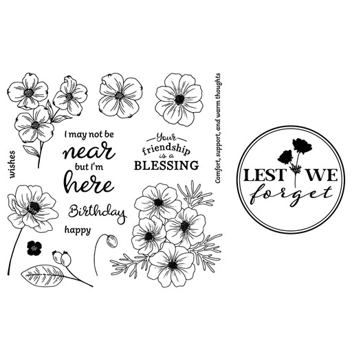 Lest We Forget Stamp Set Bundle (CC42116)