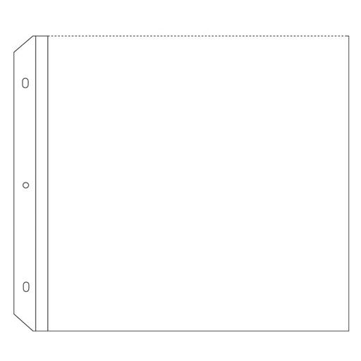 "Top-load 12"" × 12"" Memory Protectors™ Value Pack (Z1984)"