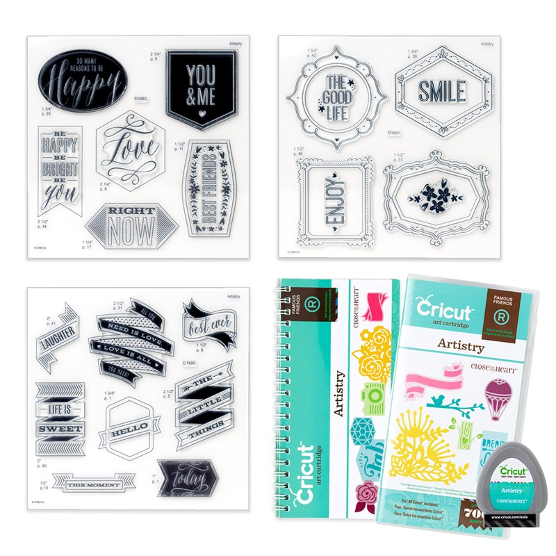 Cricut® Artistry Collection (cartridge)
