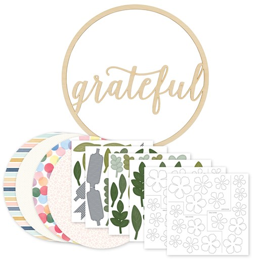 Grateful Wreath Kit (CC12018)