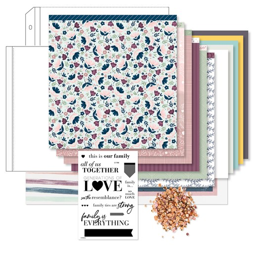 True Love Deluxe Scrapbooking Workshop Kit (without Thin Cuts) (Z4518)