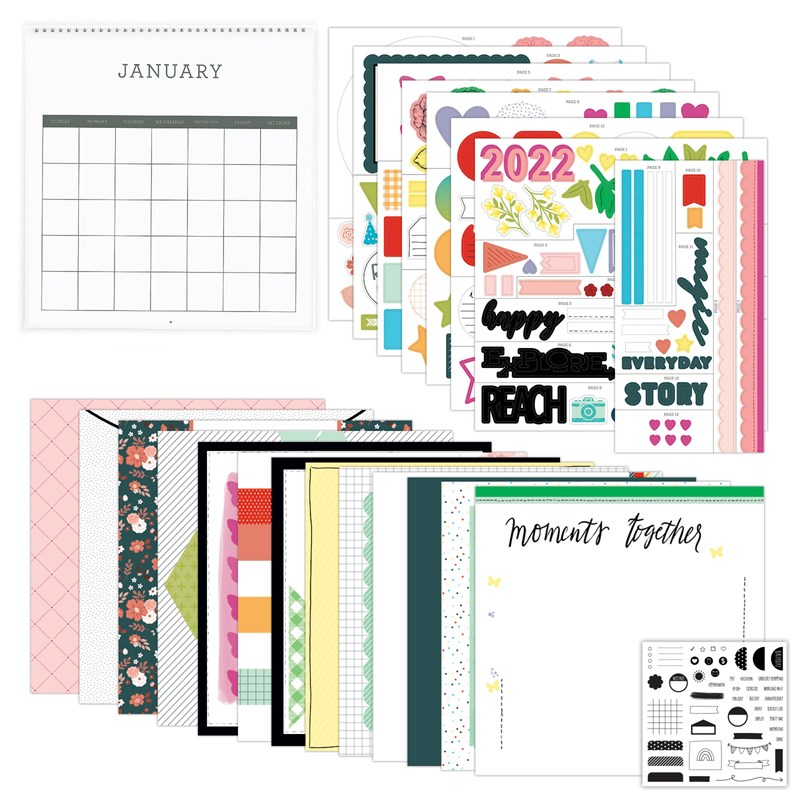 Remember Today Calendar Kit