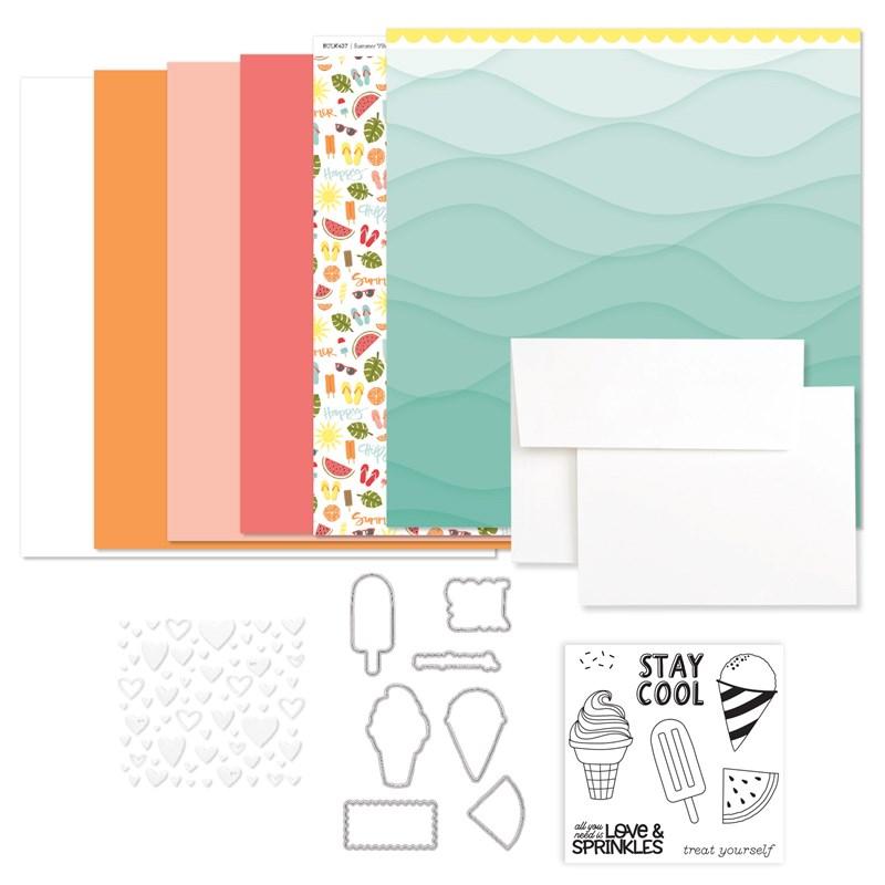 Summer Vibes Cardmaking Workshop Kit