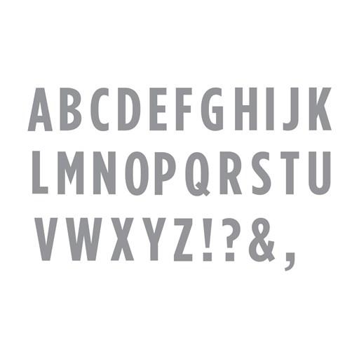 Block Alphabet Thin Cuts (Z3386)