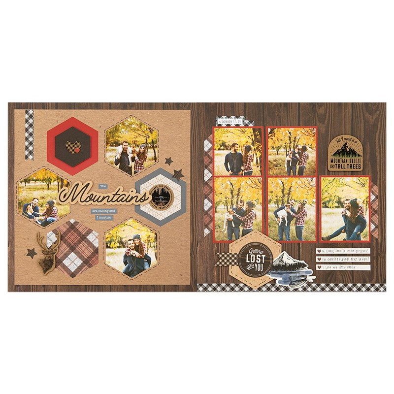 Timber Scrapbooking Workshop Kit