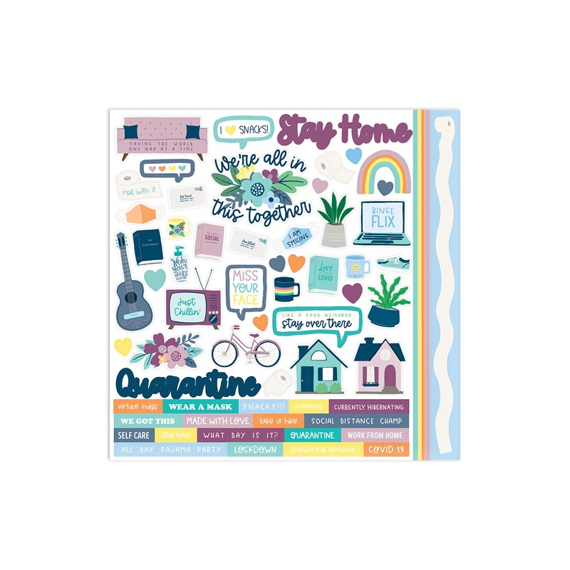 In This Together Paper Packet + Sticker Sheet