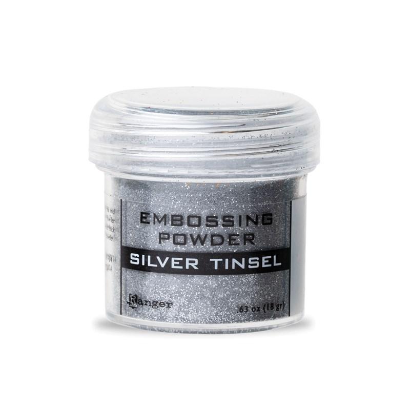Silver Tinsel Embossing Powder