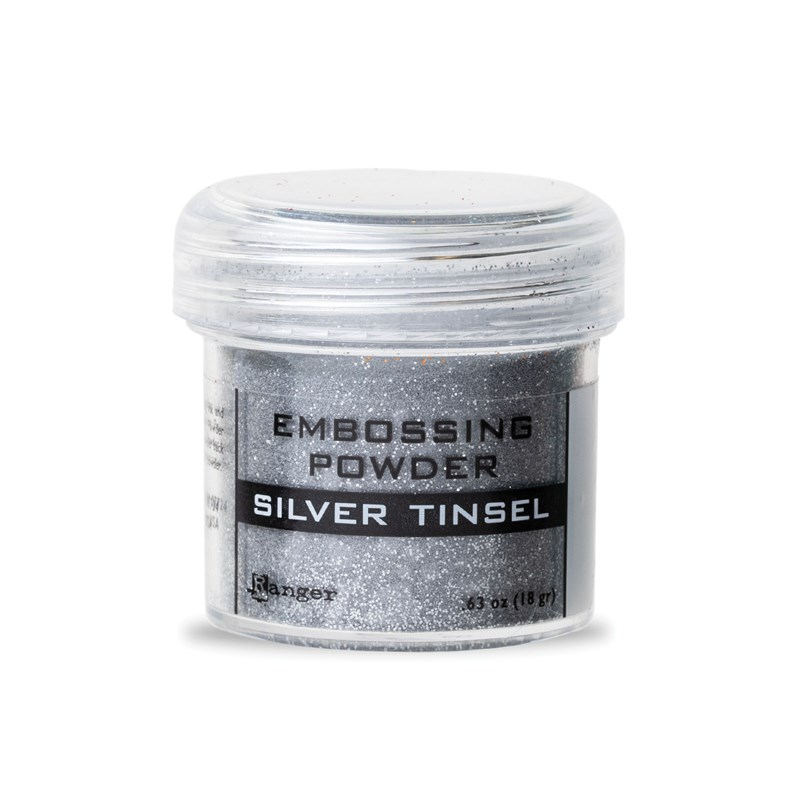 Silver Tinsel Embossing Powder