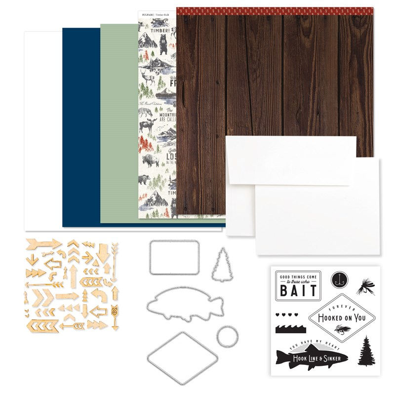 Timber Cardmaking Workshop Kit