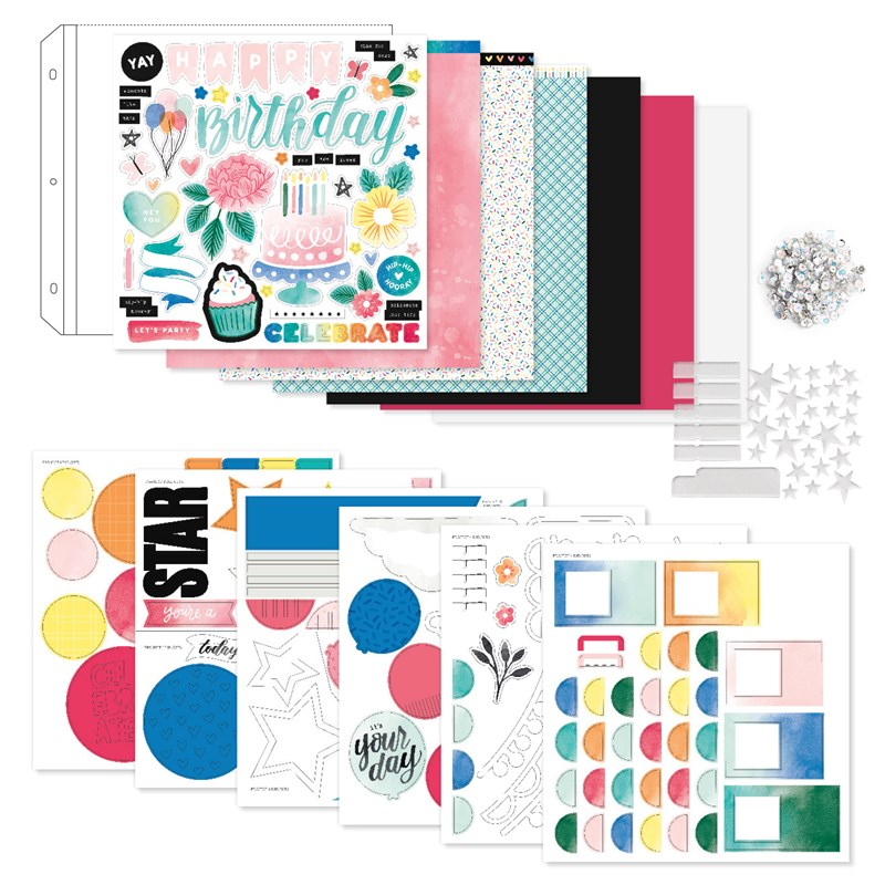 Celebrate Today Scrapbooking Workshop Kit