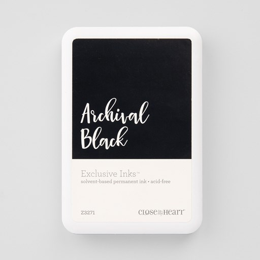 Archival Black Exclusive Inks™ Stamp Pad (Z3271)