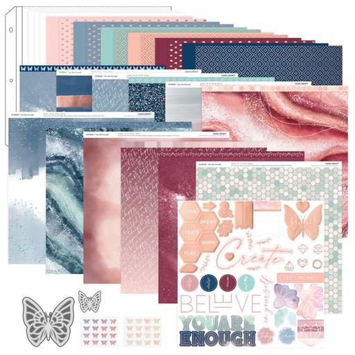 You Are Enough Scrapbooking Workshop Kit (CC52120)