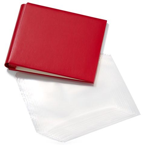 Red My Legacy™ Post Bound Album + Memory Protectors™ (CC1451)