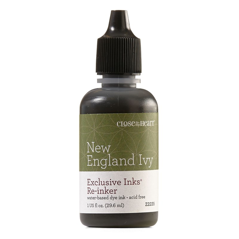 New England Ivy Exclusive Inks™ Re-inker