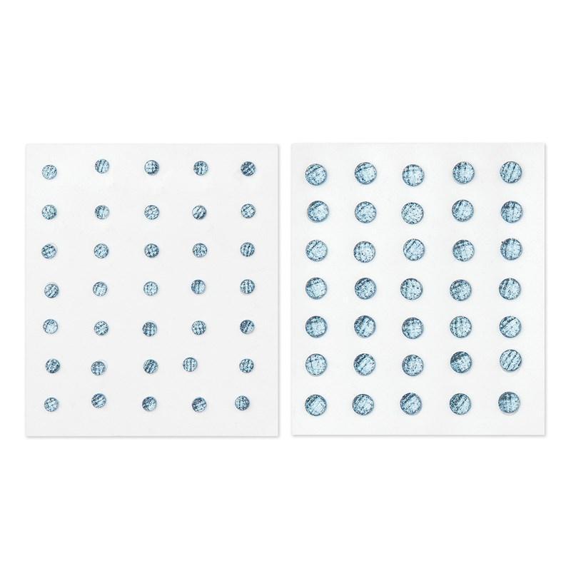 Blue Belle Glitter Gems