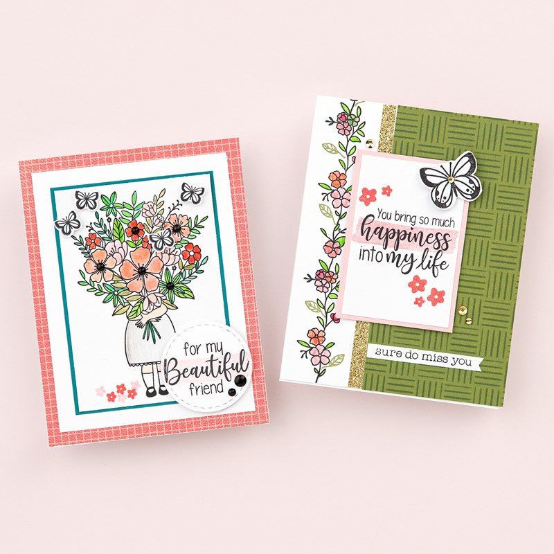 For My Beautiful Friend—July Stamp of the Month