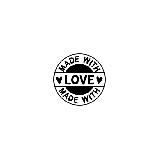 Made with Love Seal (M1285)