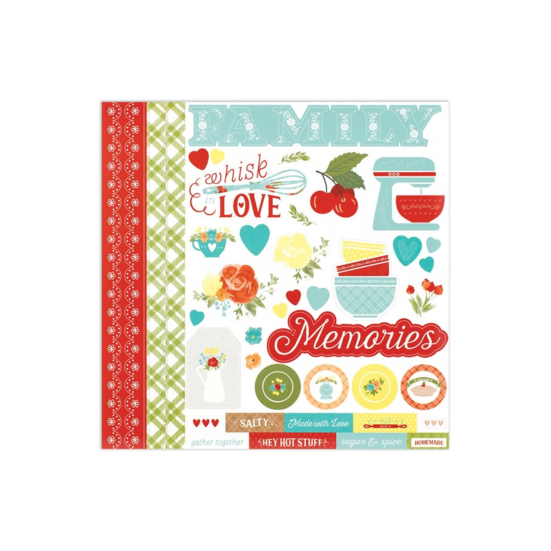 Eat Play Love Paper Packet + Sticker Sheet