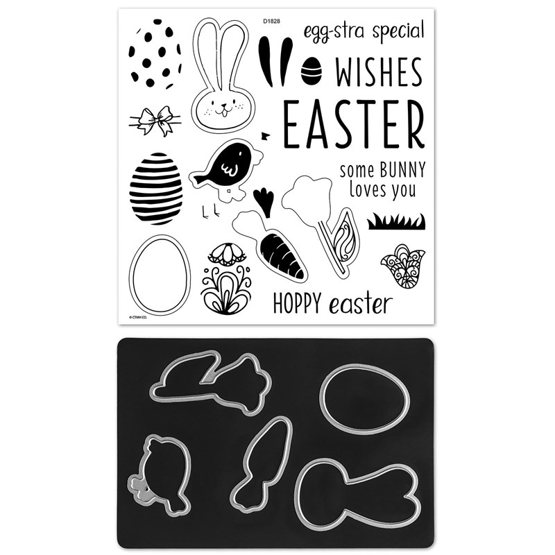 Egg-stra Special Stamp + Thin Cuts