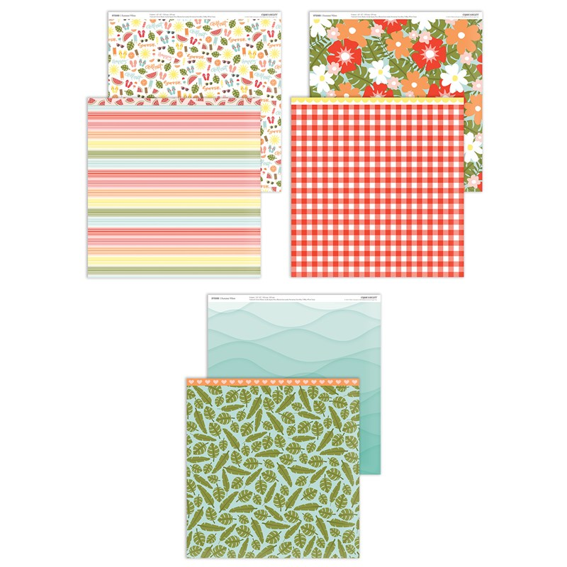 Summer Vibes Paper Packet