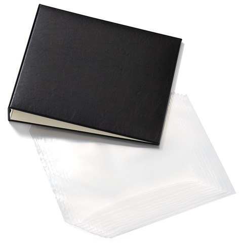 Black My Legacy™ D-Ring Album + Memory Protectors™ (CC1440)