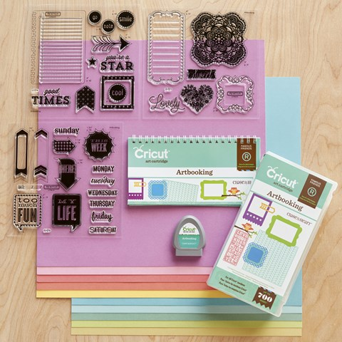 Cricut® Artbooking Collection (physical cartridge) (Z3169)