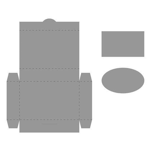 Gift Card Box Thin Cuts (Z4150)