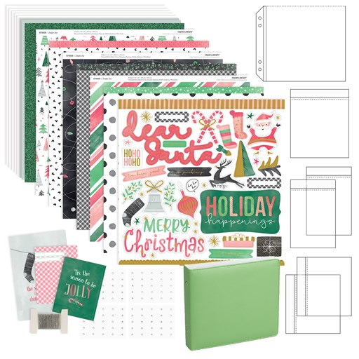 Jingle All the Way Album Workshop Kit (CC11201)