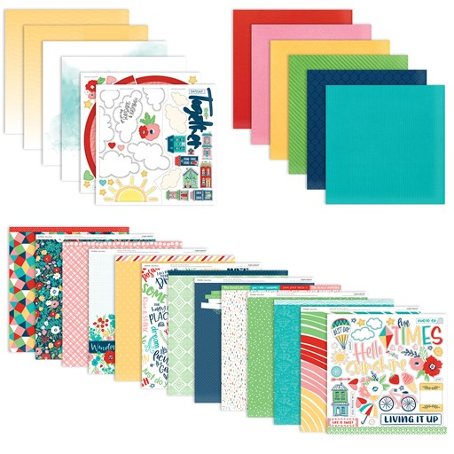 Blue Skies Paper Bundle (CC5213)