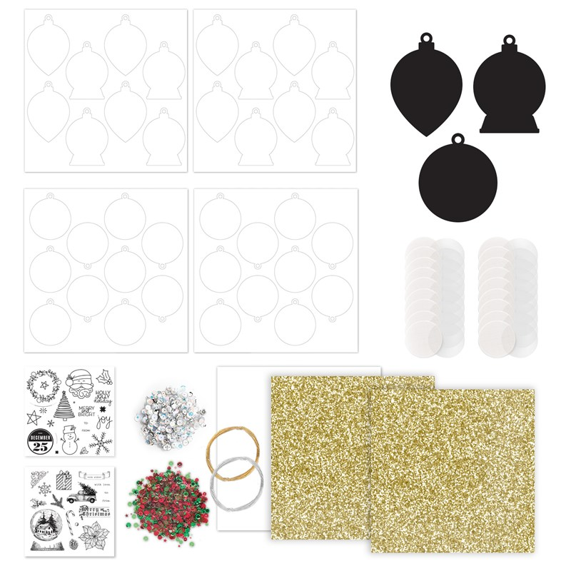 Holiday Cheer Tag & Ornament Kit
