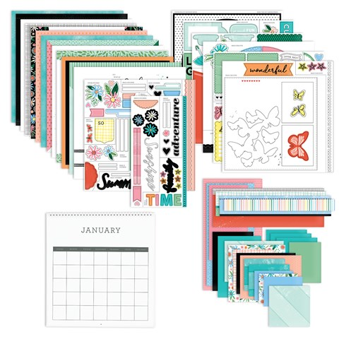 Reasons to Smile Calendar Kit (Z3600)