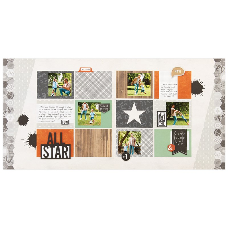 Hawthorn Cut Above® Layout Kit - project 1