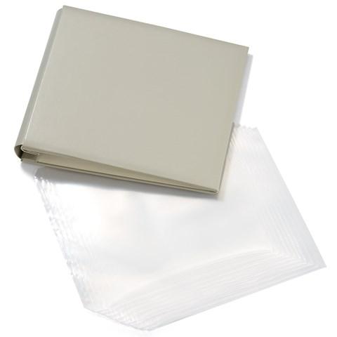 Grey My Legacy™ Post Bound Album + Memory Protectors™ (CC1449)