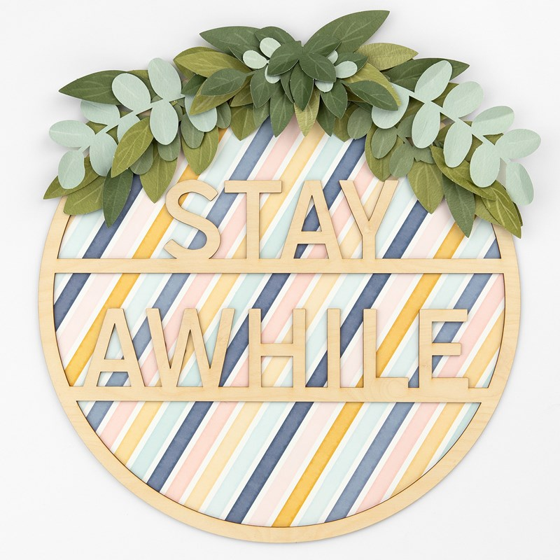 Stay Awhile Wreath Kit