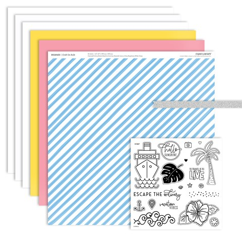 Escape to Paradise Scrapbooking Workshop Kit (CC6192)