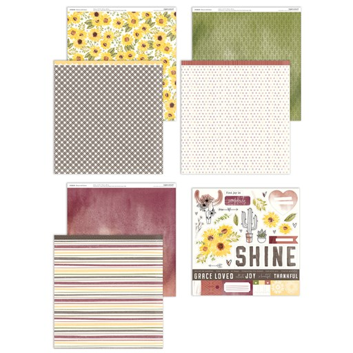 Bloom with Grace Paper Packet + Sticker Sheet (X7260S)