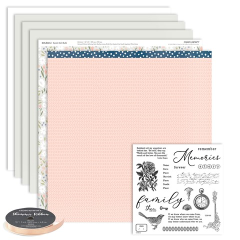 Then and Now Scrapbooking Workshop Kit (CC6194)