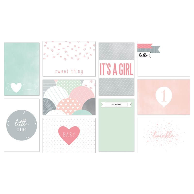 The Story Begins (Baby Girl) Picture My Life™ Cards