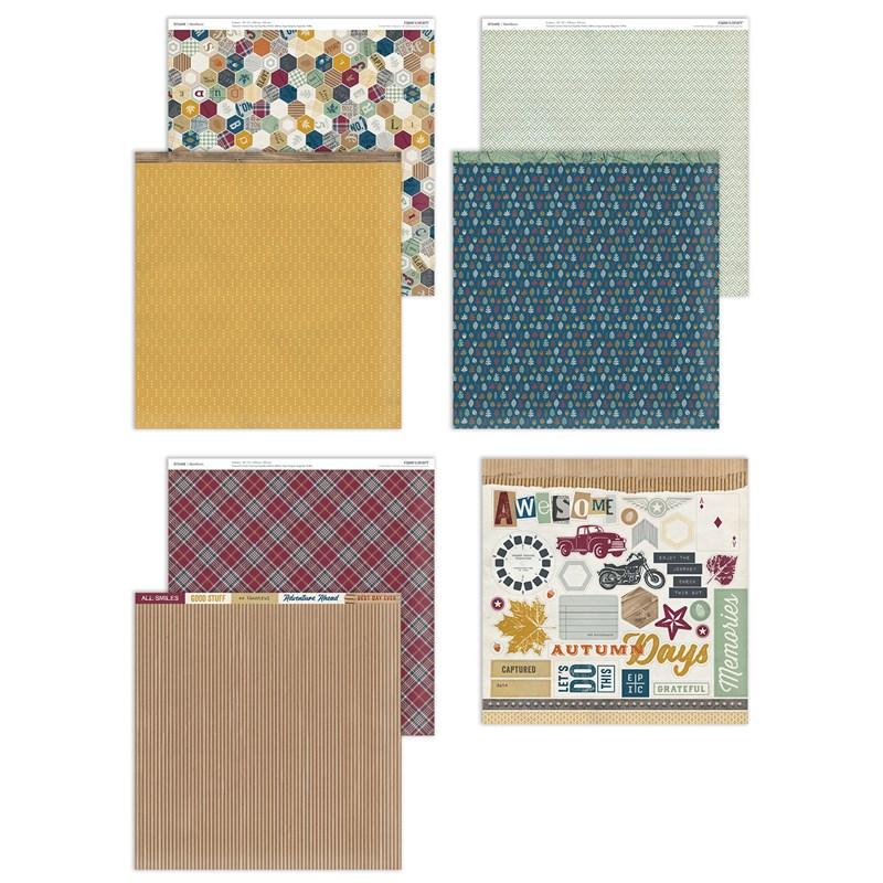 Hawthorn Paper Packet + Sticker Sheet