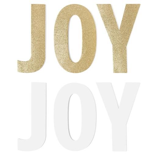 JOY Gold Glitter Chipboard (CC1519)