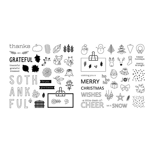 Share the Seasons Stamp Set Bundle (CC9193)
