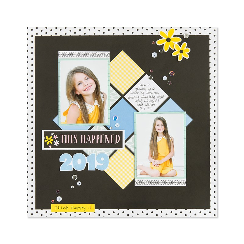 Craft On Deluxe Scrapbooking Workshop Kit (without stamp set or Thin Cuts)