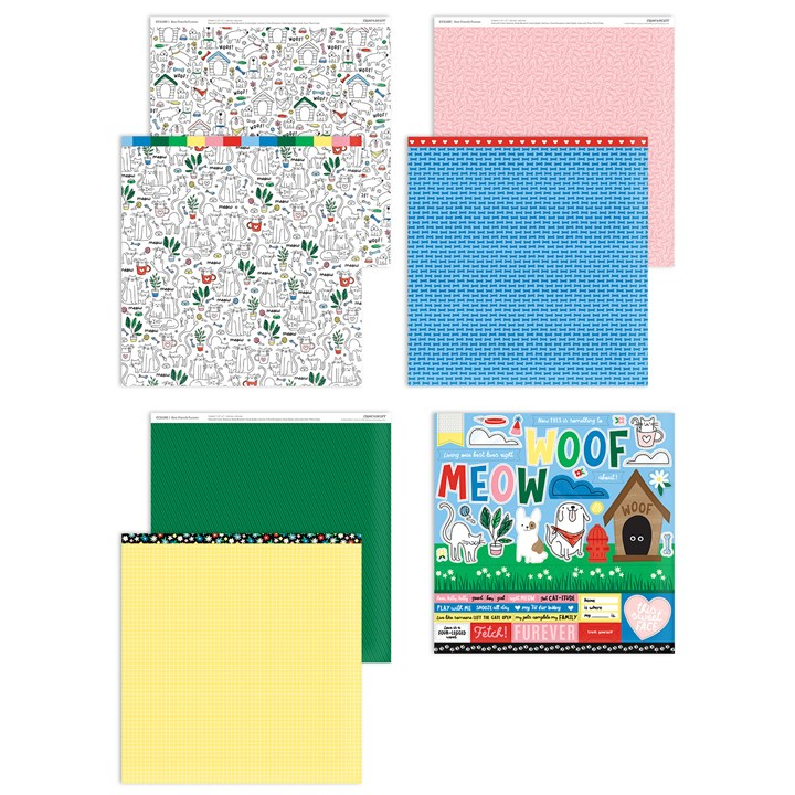 Best Friends Furever Paper Packet + Sticker Sheet (CC11191)
