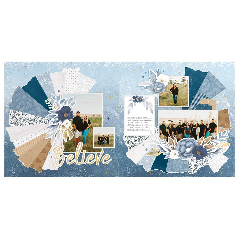 Serenity Scrapbooking Workshop Kit